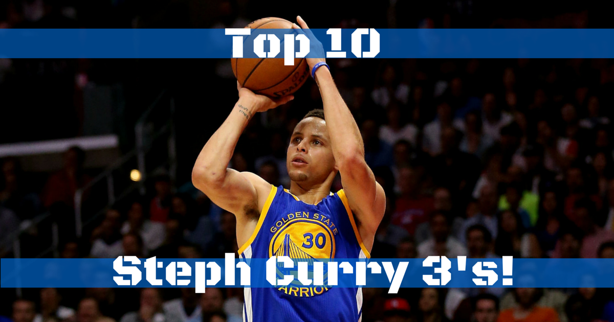 Stephen Curry's Top 10 Threes 2015-2016